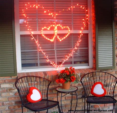home decorating lights large valentine s day decoration idea 171 the seasonal home