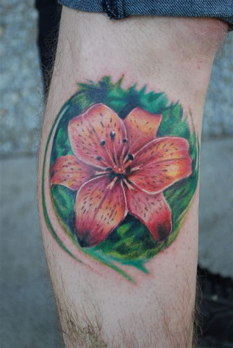 lily tattoo for men 30 flower tattoos design ideas for and