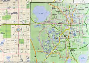 central florida city map map of central florida orlando city map itm mapscompany