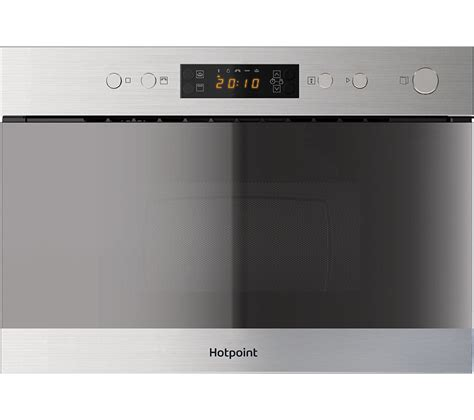Built In Microwave buy hotpoint mn 314 ix h built in microwave with grill