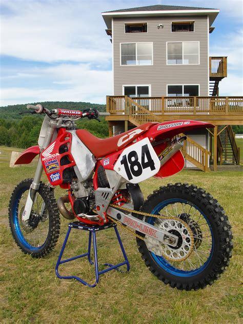 motocross bike setup 1989 honda cr250 r k vmx3 s bike check vital mx