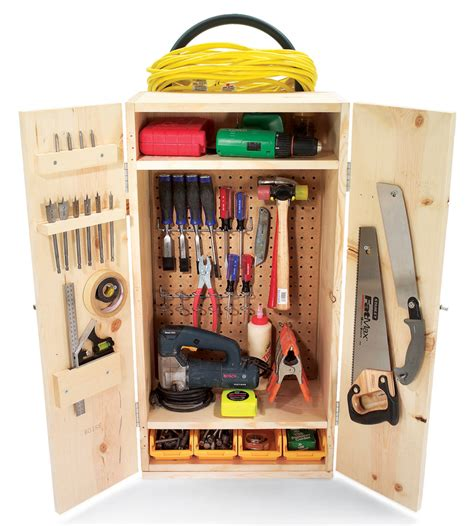 how to build your own mobile tool cabinet diy plans