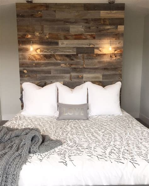 Wood For Headboard by 25 Best Ideas About Barn Wood Headboard On