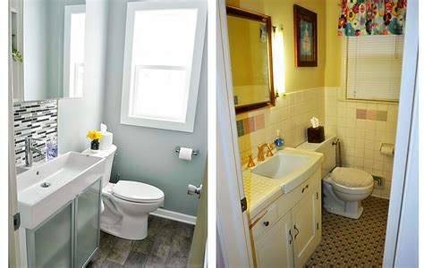 Small Bathroom Makeovers Ideas Small Bathroom Makeovers Before And After Home Designs Ideas