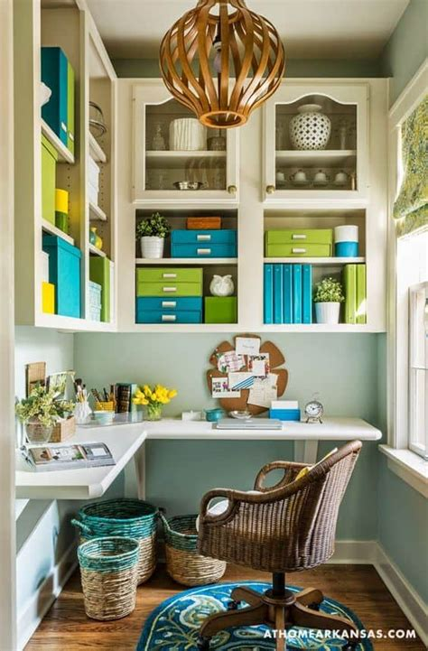 tiny office space ideas  save space  work efficiently