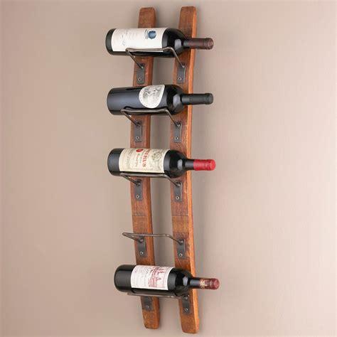 Wine Wall Racks by Wall Mounted Wine Racks In Modern Vintage Style