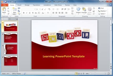 template powerpoint learning best educational powerpoint templates