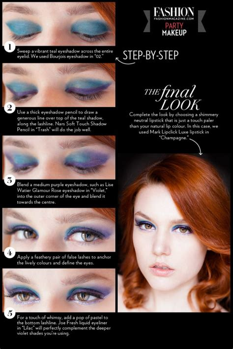 party makeup tutorial party makeup tutorials and ideas with pictures and steps