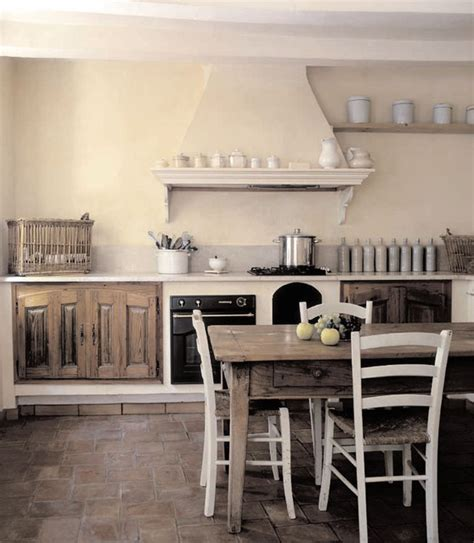 Retro Style Kitchen Cabinets french propertie farmhouse kitchen other metro by