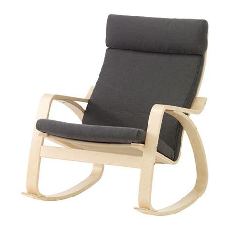 sedia ikea poang po 196 ng fauteuil 224 bascule finnsta gris ikea