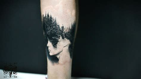 23 amazing forest tattoos for everyone who loves to