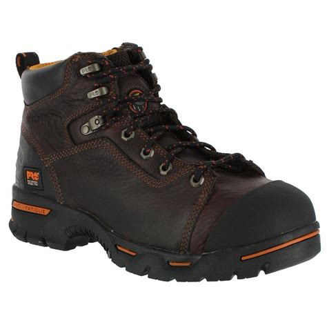 steel toed boots for timberland pro s endurance pr 6 quot steel toe work boots