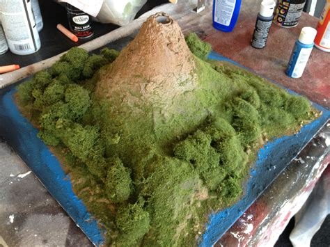 How To Make A Paper Mache Volcano Explode - the ubiquitous school volcano project volcanoes phone