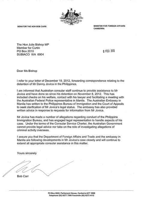 Inquiry Letter In The Philippines international
