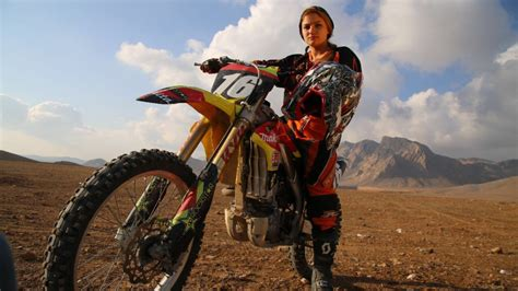pro female motocross riders the female motocross rider who wants to represent iran cnn