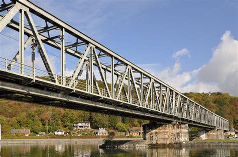 Pont A Treillis by Viaduct Anseremme