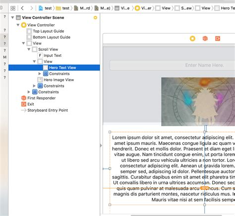 view layout swift swift how do i set a text view size in ios to display