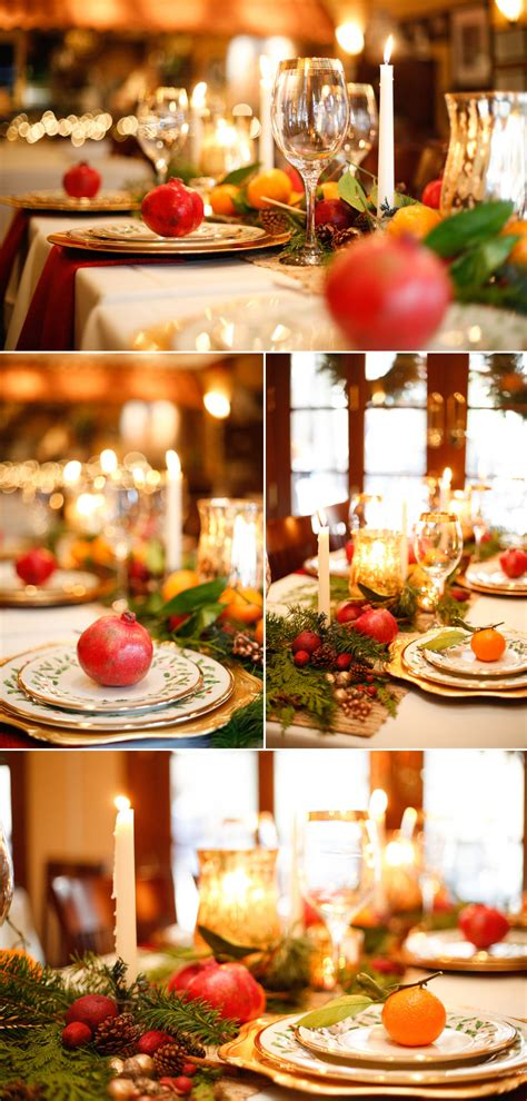 romantic christmas wedding tablescape  pink bride