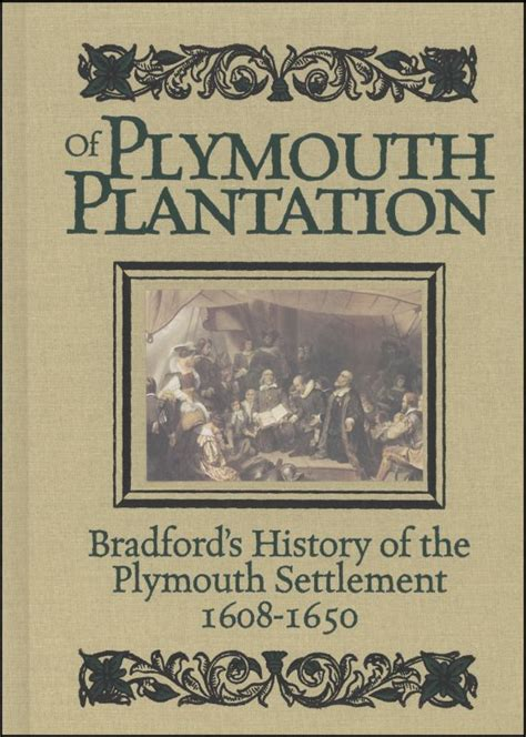 what is of plymouth plantation about puritans attitude towards nature through of plymouth
