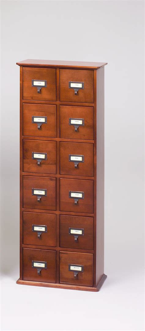 library card file cabinet leslie dame library card file media cabinet by oj commerce