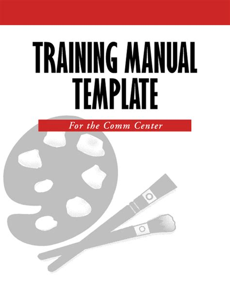 5 free training manual templates excel pdf formats