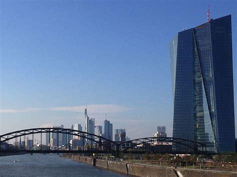 europäische bank frankfurt european central bank ecb guide frankfurt