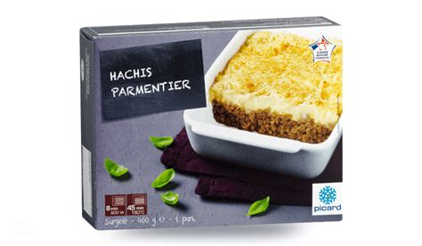 picard plats cuisin駸 hachis parmentier surgel 233 s les plats cuisin 233 s picard