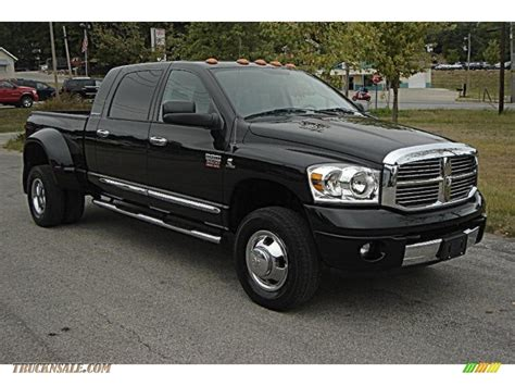 2007 dodge ram 3500 laramie mega cab 4x4 dually in