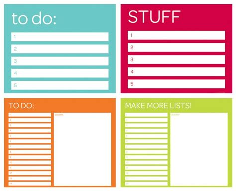 cool printable to do list pin by luanne balfrey patrick on printables pinterest