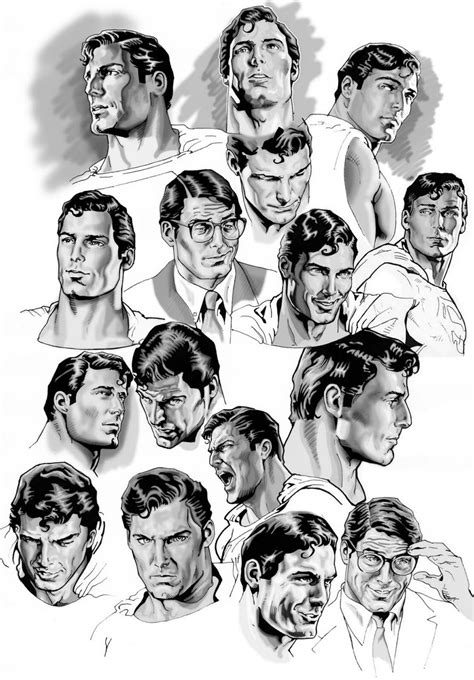 christopher reeve as clark kent christopher reeve as clark kent superman art by nacho