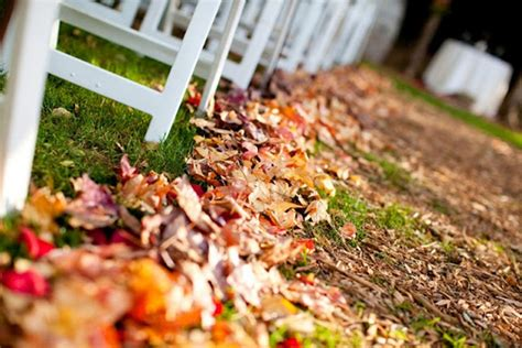 fall leaves wedding decorations fall wedding detail ideas 2013 trends
