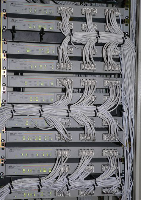 The Rack Wiki File Switches In Rack Jpg Wikimedia Commons