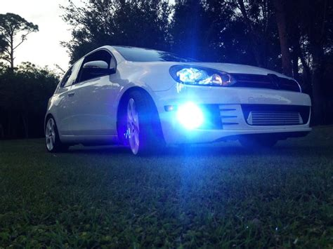 Lu Hid Autovision vw gti hid auto vision equipped 55 watt 10k blue hid headlights and fog lights check
