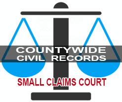 County Court Records County Civil Court Records