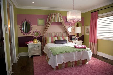 girls bedroom wall colors 20 trendy bedrooms with striped accent walls