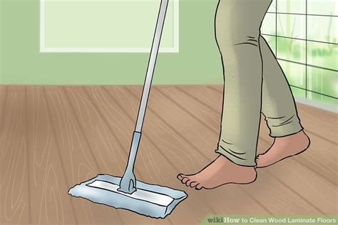 How Do I Clean Wood Laminate Floors by 4 Ways To Clean Wood Laminate Floors Wikihow