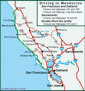 california map highway 1