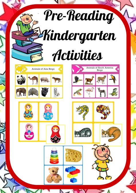 montessori printables for preschool pre reading kindergarten pack montessori inspired