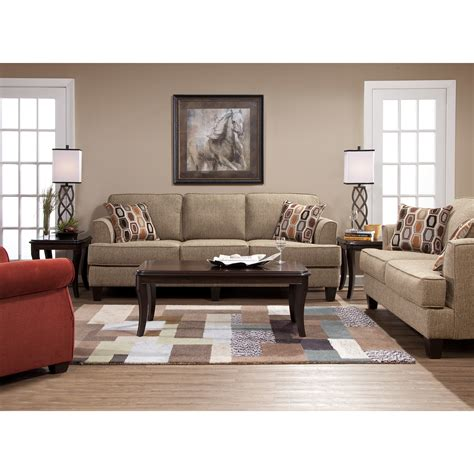 living room furniture reviews serta upholstery tribeca sofa set soprano beige su 6560011
