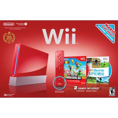 wii console sports nintendo wii limited edition console with wii sports