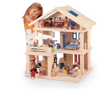 Superb Loving Family Christmas Dollhouse #6: Plan-toys-wooden-doll-house.jpg?w=645