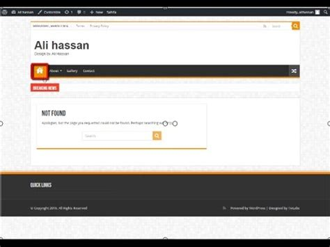 sahifa theme tutorial how to add home icon to main menu in sahifa theme urdu