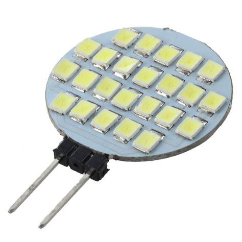 12v 24 smd led g4 base white cer marine light bulb e7p2