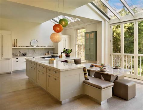 kitchen with island design ideas bloombety large kitchen island design with white table