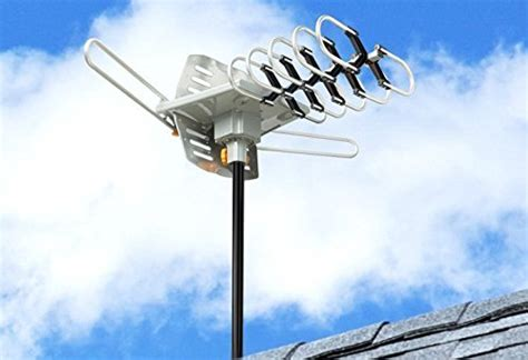 esky hdtv lified antenna by 2 tv support outdoor tv