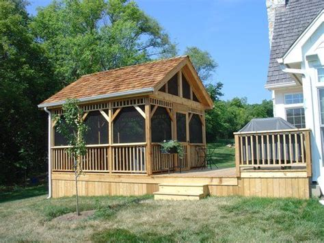 Woods Screen House With Awnings by 25 Best Ideas About Screened Gazebo On