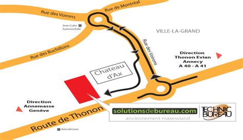 bureau ville la grand plan horaires technic bureau 74100 ville la grand
