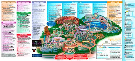 disney california adventure map map california adventure afputra