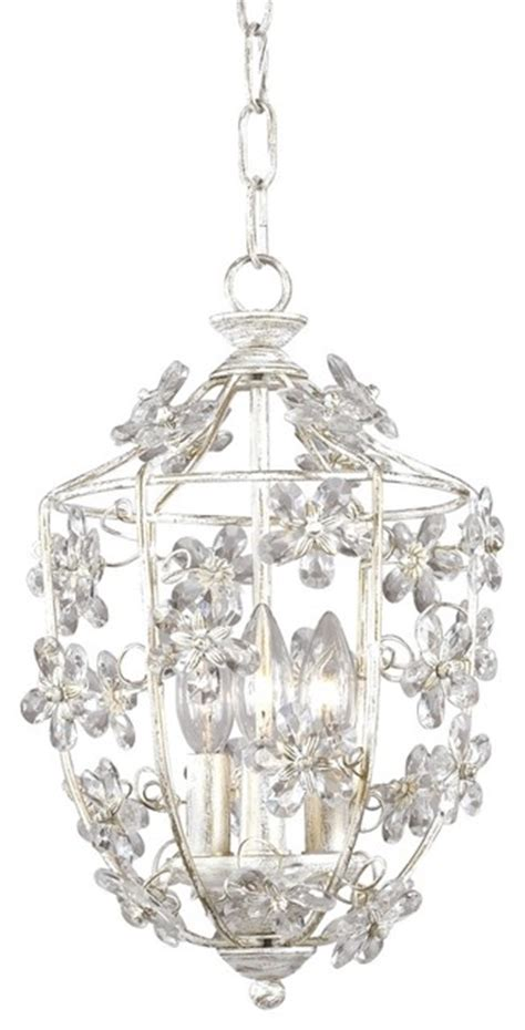 crystorama antique white lantern pendant chandelier