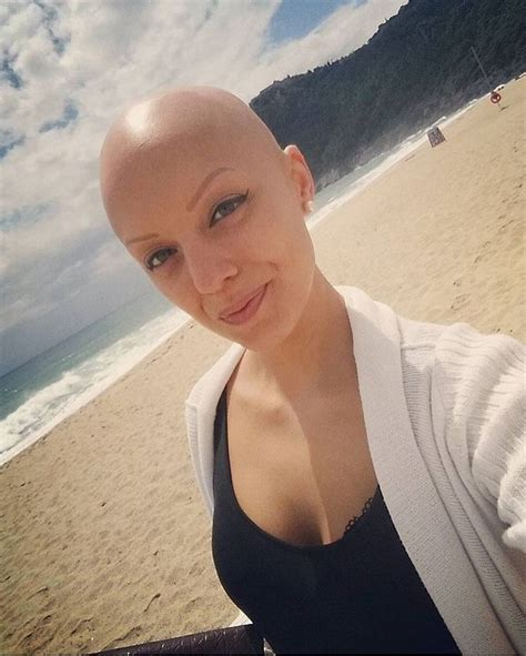 completely bald women dearbaldie what better way to help a woman feel great